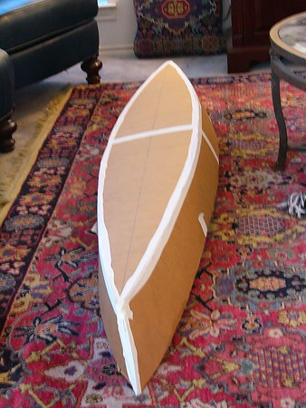 Cardboard Canoe