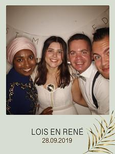 Bruiloft Lois & Rene