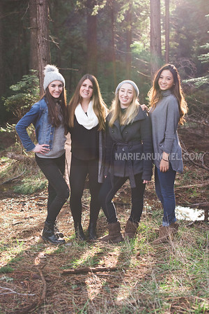 Forest Shoot: Senior Models