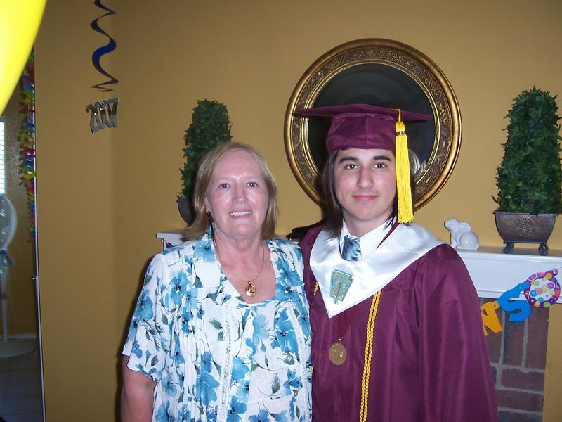 Alex and Nanny.
