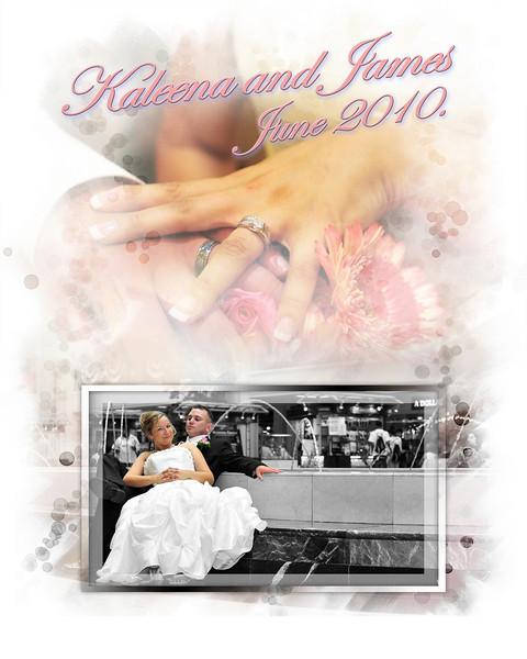 Kaleena and James Wedding Album