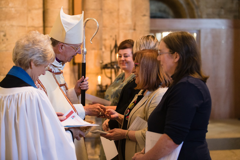 Diocese Celebrates Lay Ministry in Cathedral Service