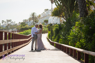 Elaine and Derek - Renewal of Vows - El Oceano