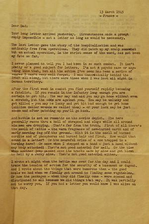 Letter Archive