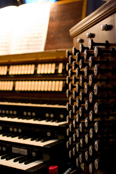 Grace Cathedral Organ Stops