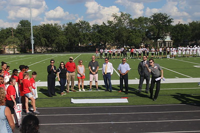 9.16.18 FB Stadium Ribbon Cutting
