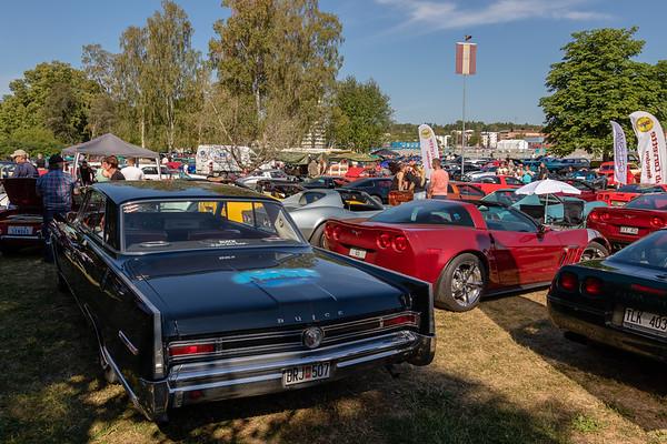 American Car show Norrtälje – lördag 14 juli 2018