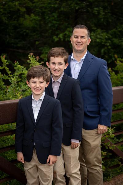 Eric, Liam & Luke family shoot