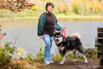 Dog Hike Picnic
