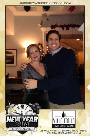 New Year's Eve at Villa Italia