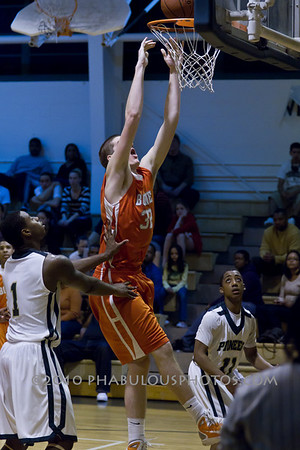 Boone Braves @ Oak Ridge Boys Varsity Basketball - 2011