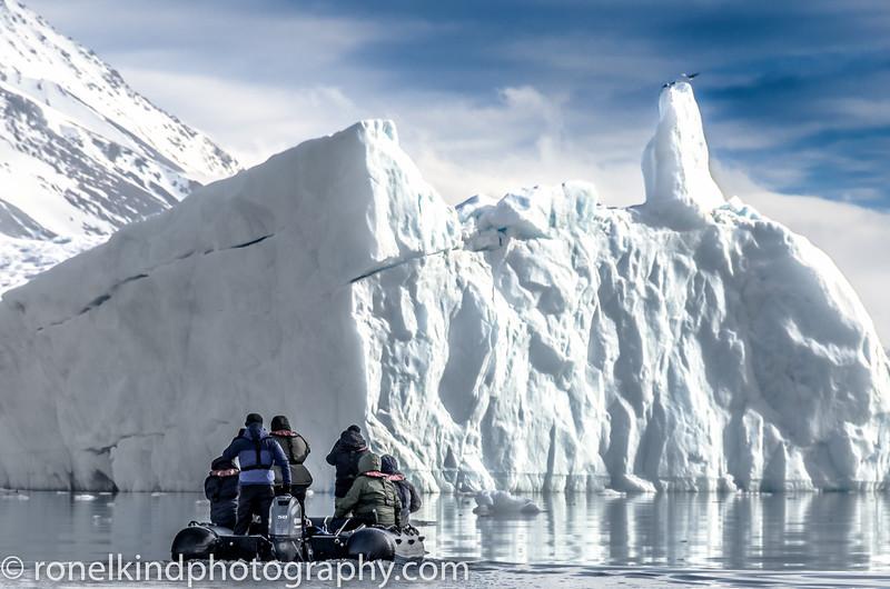 Approaching an Iceberg.