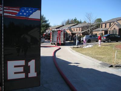 Hawthorne Village, Franklin - 2nd Alarm: March 26, 2007