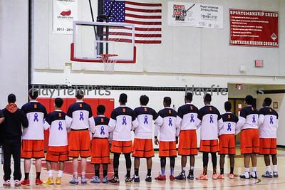 Boys Varsity Basketball v McLean 1/31/15
