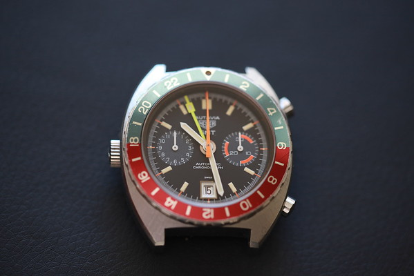 Heuer Autavia GMT 11630 Gray Subdials