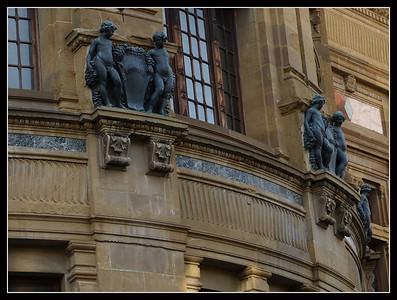 Florence - Biblioteca Nazionale,  Piazza dei Cavalleggeri e dintorni