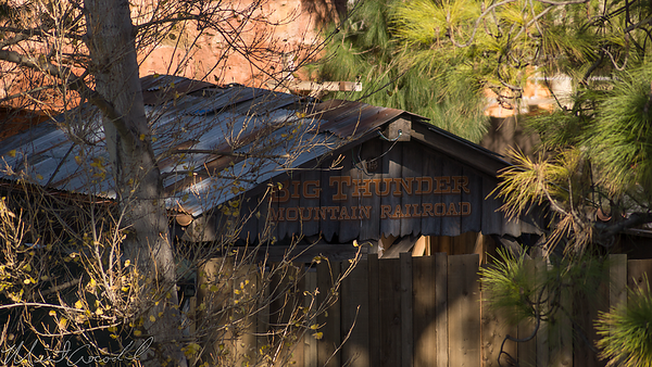Disneyland Resort, Disneyland, Frontierland, Mark Twain, Mark, Twain, Big Thunder Mountain Railroad, Big Thunder, New Entrance, New, Entrance