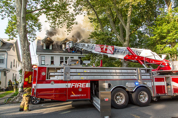 Passaic NJ 4th alarm, 302 Howard Ave. 07-20-19