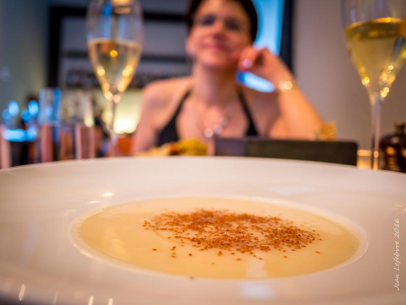 Celeriac and Coconut Soup
