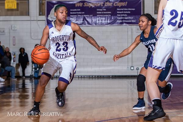 Broughton girls varsity basketball vs Millbrook. February 15, 2019. 750_7347