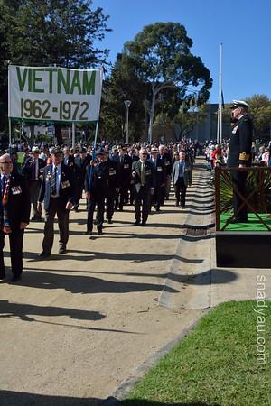 Anzac Day Vietnam Veterans 2016