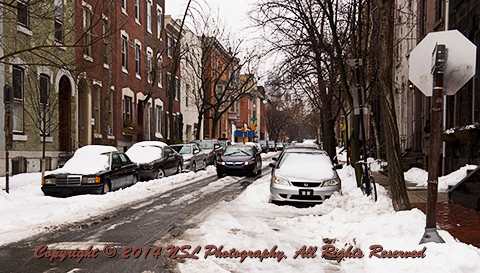 Philadelphia Street Scenes - Snowfall, photo by NSL Photography