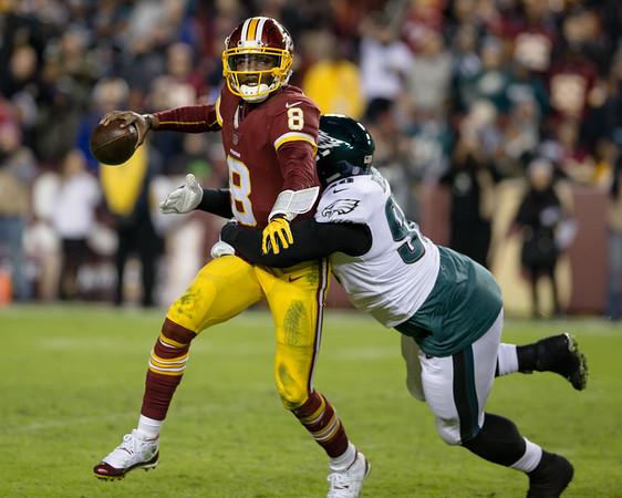 20181230 NFL Football Philadelphia Eagles at Washington Redskins2
