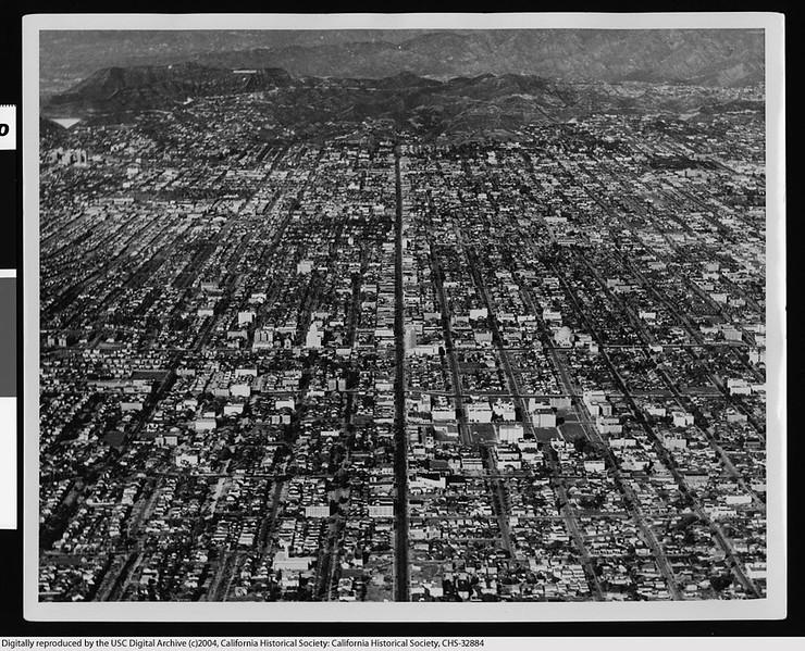 Western Avenue Aerial