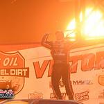 Portsmouth Raceway Park - Dirt Track World Championship - Lucas Oil Late Model Dirt Series - 10/17/20 - Paul Arch