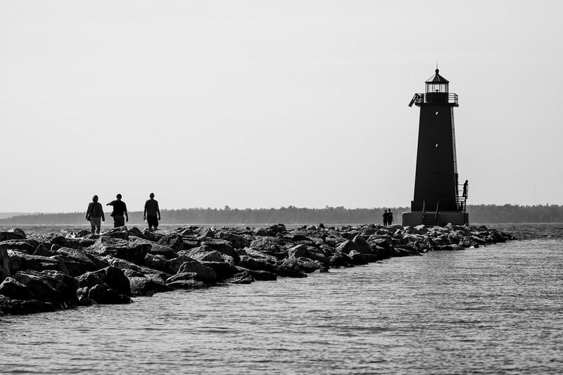 Manistique East Breakwater Lighthouse