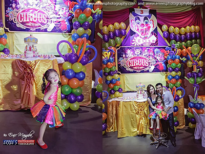 Elise Savellano Singson 3rd Birthday