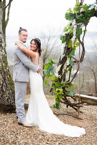 Sevierville, TN  Mountain top wedding