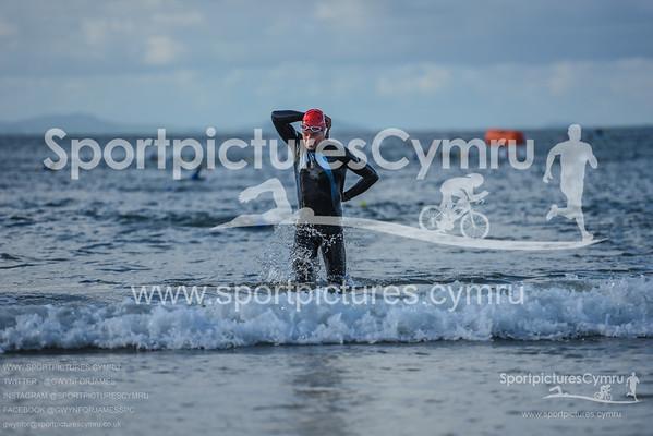 Superfeet Sandman Triathlon - Swim Exit Red Hats