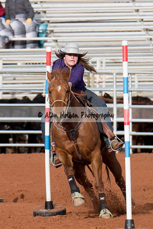 2018 Junior High Rodeo (Friday - Pole Bending