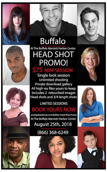 Buffalo Head Shot Promo