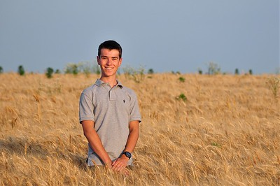 061417 Yohann in a Wheat Field