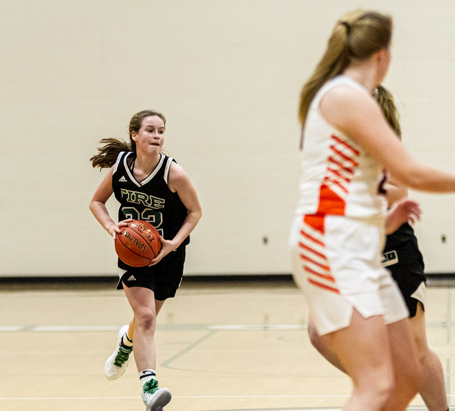 Holy Family Varsity Girls Basketball vs. Delano, 1/10/20: Berkley Neubauer '24 (32)