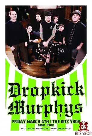 Dropkick Murphys March 5, 2010