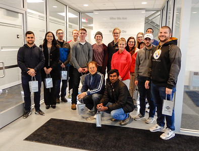 Dana BGSU Supply Chain Mgmt Visit, April 24, 2018