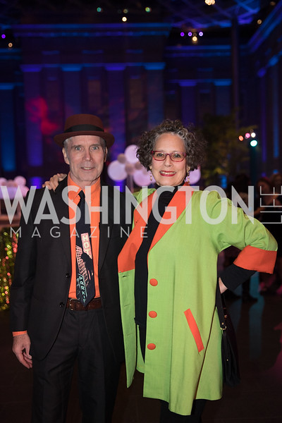 "Charlie Ahearn, Jane Dickson. Photo by Bruce Allen. National Portrait Gallery ""Face Forward"" Artist Party."