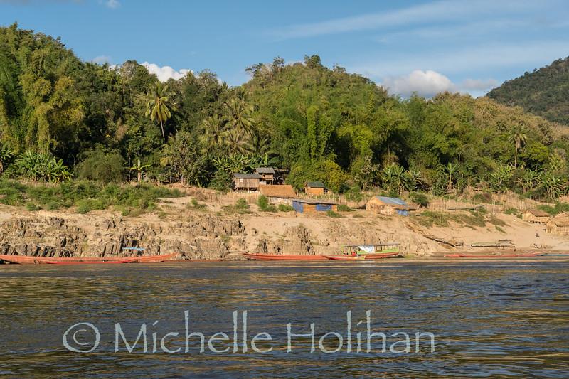 Slow Boat to Luang Prabang down the Mekong River, Laos
