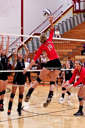 Varsity Volleyball v Elkhart Christian