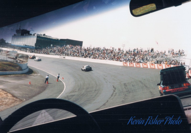 Ride around the track