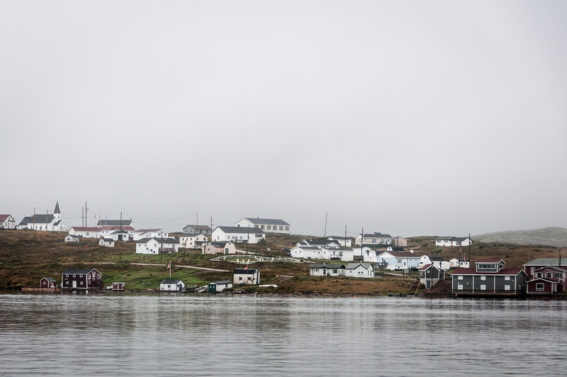 The community of Red Bay, Newfoundland and Labrador, Canada