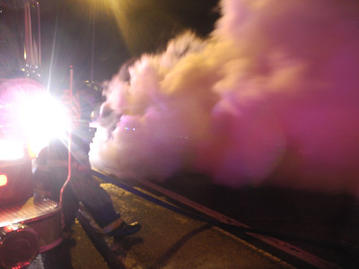 1/13/2012 - SOMERVILLE, MASS - TRUCK FIRE ROUTE 93 SOUTH @ SULLIVAN SQUARE