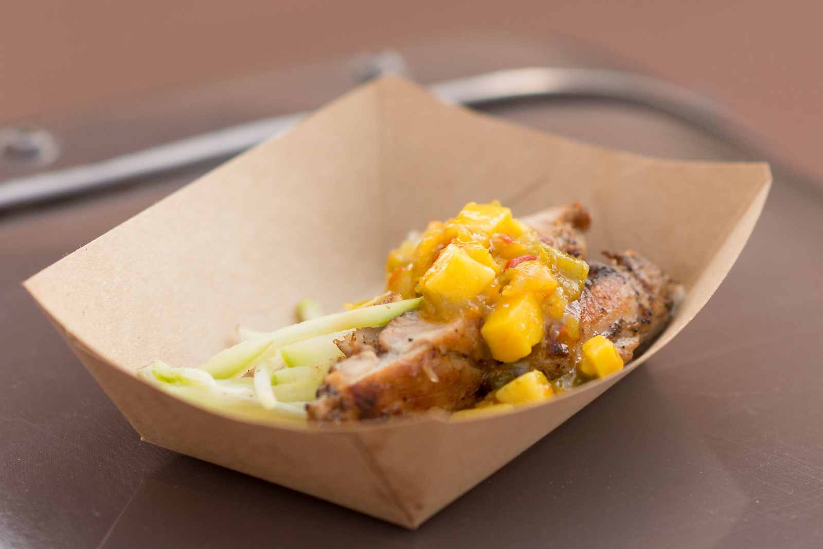 Jerk-spiced Chicken - Epcot Flower & Garden Festival 2016