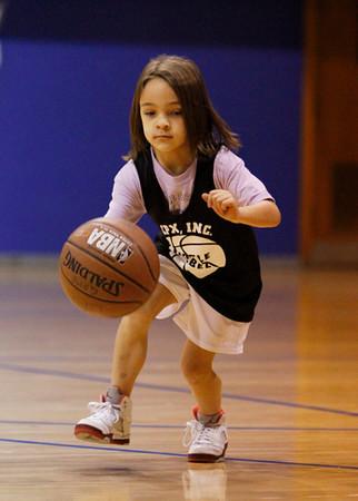 SN Girls Little Rebel Basketball 2012