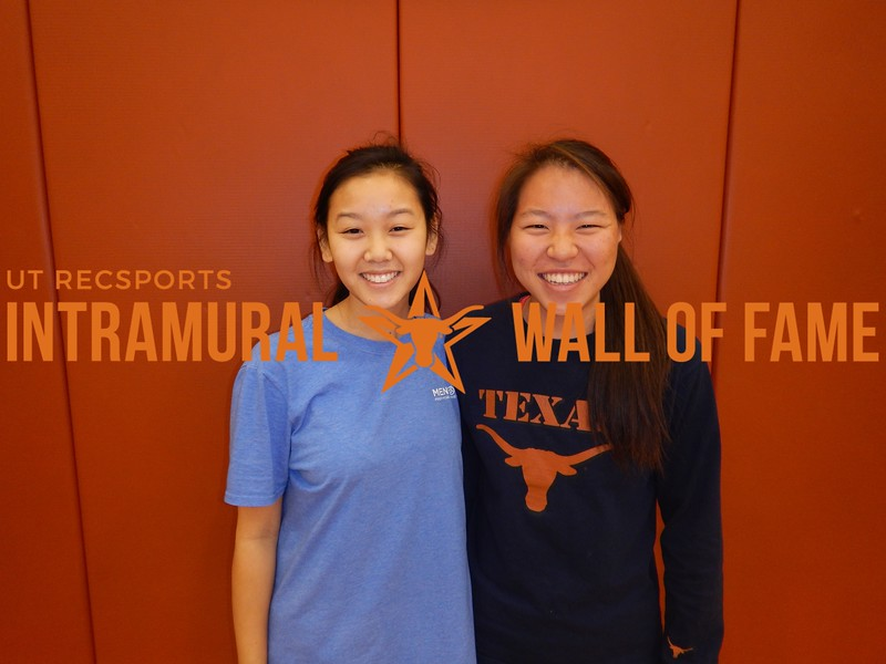 Fall 2016 Table Tennis Doubles Women's Champ