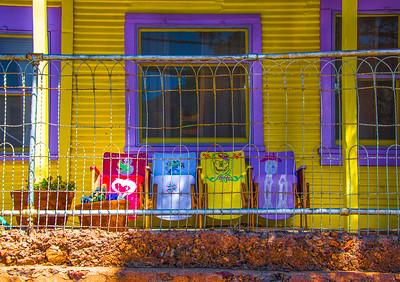 'Front Row Seats,' Bisbee, AZ 2017.