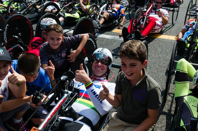 4° Hand Cycling GP Monza 2014